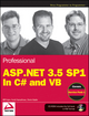 Professional ASP.NET 3.5 SP1 Edition: In C# and VB (0470478268) cover image