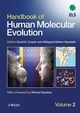 Handbook of Human Molecular Evolution, 2 Volume Set (0470517468) cover image