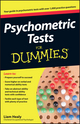 Psychometric Tests For Dummies (0470753668) cover image