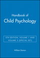 Handbook of Child Psychology, 5th Edition, Volume 1 and Volume 3 (Special Set) (0471291668) cover image