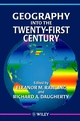 Geography into the Twenty-First Century (0471962368) cover image