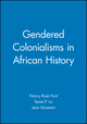 Gendered Colonialisms in African History (0631204768) cover image