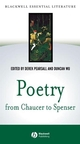 Poetry from Chaucer to Spenser: based on