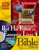 Red Hat Fedora and Enterprise Linux 4 Bible (0764595768) cover image