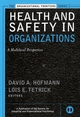 Health and Safety in Organizations: A Multilevel Perspective  (0787958468) cover image