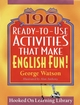 190 Ready-to-Use Activities That Make English Fun! (0787978868) cover image