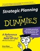 Strategic Planning For Dummies (1118050568) cover image