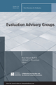 Evaluation Advisory Groups: New Directions for Evaluation, Number 136 (1118537068) cover image