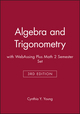 Algebra and Trigonometry 3e with WebAssing Plus Math 2 Semester Set (1118731468) cover image