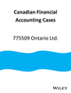 September 19, 2014: 775509 Ontario Ltd. (Canadian Financial Accounting Cases) (1119039568) cover image