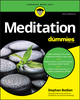 Meditation For Dummies, 4th Edition (1119251168) cover image