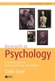 Research in Psychology: A Practical Guide to Methods and Statistics, 2nd Edition (1405125268) cover image