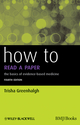 How to Read a Paper: The Basics of Evidence-Based Medicine, 4th Edition (1444390368) cover image