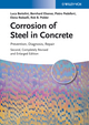 Corrosion of Steel in Concrete: Prevention, Diagnosis, Repair, 2nd Edition (3527331468) cover image