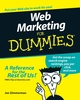 Web Marketing For Dummies, 3rd Edition (0470134569) cover image