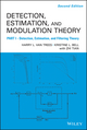 Detection Estimation and Modulation Theory, Part I: Detection, Estimation, and Filtering Theory, 2nd Edition (0470542969) cover image