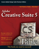 Adobe Creative Suite 5 Bible (0470584769) cover image
