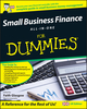 Small Business Finance All-in-One For Dummies, UK Edition (0470997869) cover image
