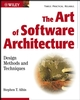 The Art of Software Architecture: Design Methods and Techniques (0471228869) cover image