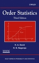 Order Statistics, 3rd Edition (0471389269) cover image
