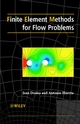 Finite Element Methods for Flow Problems  (0471496669) cover image