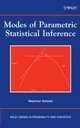 Modes of Parametric Statistical Inference (0471667269) cover image