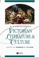 A Companion to Victorian Literature and Culture (0631218769) cover image