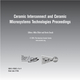 CICMT 2005 - Ceramic Interconnect and Ceramic Microsystems Technologies CD-ROM: Proceedings and Exhibitor Presentations held April 10-13, 2005, Baltimore, Maryland (0930815769) cover image
