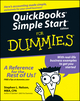 QuickBooks Simple Start For Dummies (1118054369) cover image