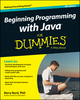 Beginning Programming with Java For Dummies, 4th Edition (1118417569) cover image