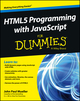 HTML5 Programming with JavaScript For Dummies (1118431669) cover image