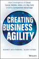 Creating Business Agility: How Convergence of Cloud, Social, Mobile, Video, and Big Data Enables Competitive Advantage (1118724569) cover image