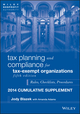Tax Planning and Compliance for Tax-Exempt Organizations, Fifth Edition 2014 Cumulative Supplement (1118797469) cover image