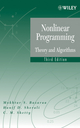 Nonlinear Programming: Theory and Algorithms (Set), 3rd Edition (1118857569) cover image