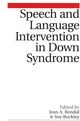Speech and Language Intervention in Down Syndrome (1861562969) cover image