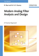 Modern Analog Filter Analysis and Design: A Practical Approach (3527407669) cover image