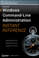 Windows Command Line Administration Instant Reference (047065046X) cover image