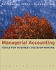 Managerial Accounting: Tools for Business Decision-Making, Canadian Edition (047083546X) cover image
