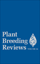 Plant Breeding Reviews, Volume 34 (047087516X) cover image