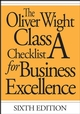 The Oliver Wight Class A Checklist for Business Excellence, 6th Edition (047174106X) cover image