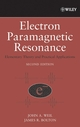 Electron Paramagnetic Resonance: Elementary Theory and Practical Applications, 2nd Edition (047175496X) cover image