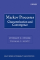 Markov Processes: Characterization and Convergence (047176986X) cover image