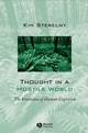 Thought in a Hostile World: The Evolution of Human Cognition (063118886X) cover image