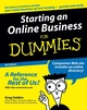 Starting an Online Business For Dummies, 4th Edition (076459656X) cover image