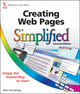 Creating Web Pages Simplified, 2nd Edition (111821546X) cover image