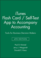 iTunes Flash Card / Self-Test App to accompany Accounting: Tools for Business Decision Makers, 4e (111839786X) cover image