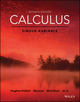 Calculus: Single Variable, Enhanced eText, 7th Edition (111937426X) cover image