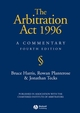 The Arbitration Act 1996: A Commentary, 4th Edition (140513996X) cover image