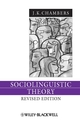 Sociolinguistic Theory (140515246X) cover image