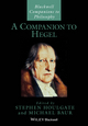 A Companion to Hegel (140517076X) cover image